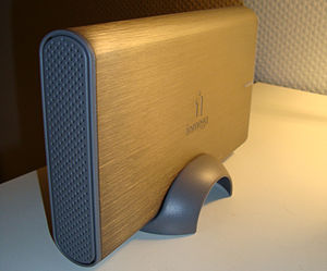 External hard drive from Iomega