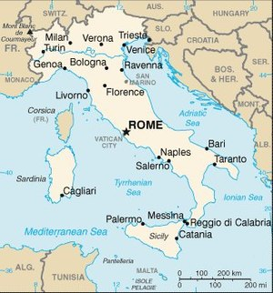 List of cities in Italy Simple English Wikipedia the