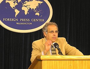 Pollster John Zogby, president and founder of ...