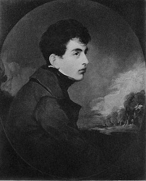 English: Young Lord Byron