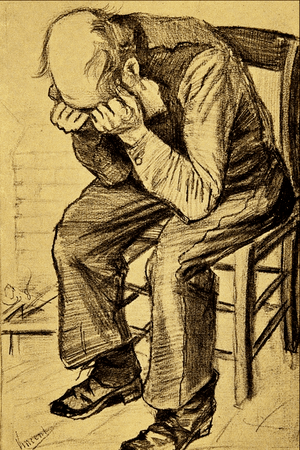Old Man Grieving - Vincent van Gogh