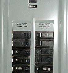 Simple Light Wiring Diagram Single Pole Switch Distribution Board Wikipedia