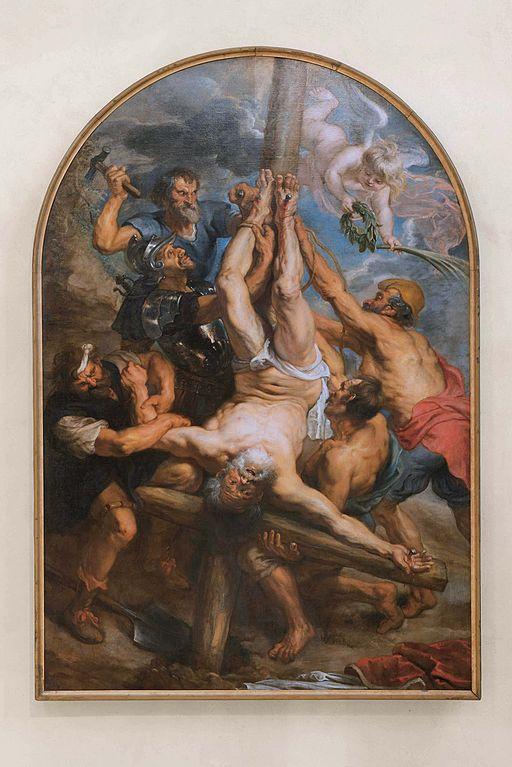 Peter Paul Rubens-Die Kreuzigung Petri