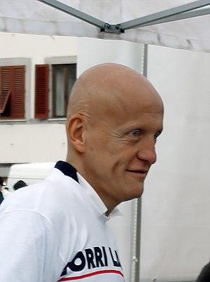 Pierluigi Collina bei einer Veranstaltung in F...