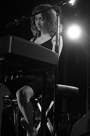Regina Spektor in concert.