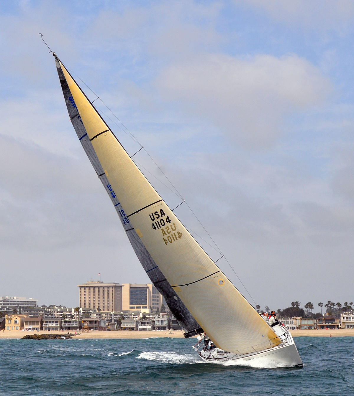 hight resolution of racing yacht diagram