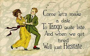 Tango postcard, c. 1919