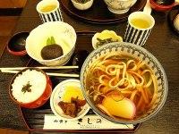 Udon lunch set by javic in Nikko, Tochigi