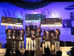 WCG Malaysia 2006 Warcraft 3: DoTA winners