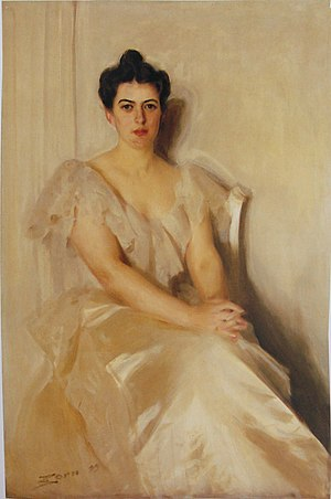 Wife of President Grover Cleveland