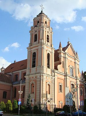 Church of All Saints, Vilnius
