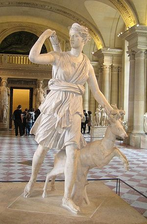 Artemis, Greek goddess of the Hunt