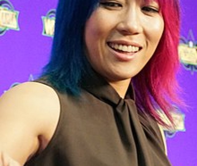 Asuka Wrestlemania Axxess April  Jpg