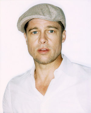 photographic portrait of Brad Pitt at Make it ...
