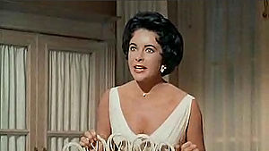 Screenshot of Elizabeth Taylor from the traile...