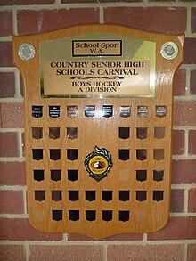 Country Senior High Schools Carnival Western Australia