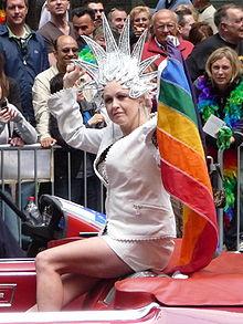 Cyndi Lauper at San Francisco Pride 2008