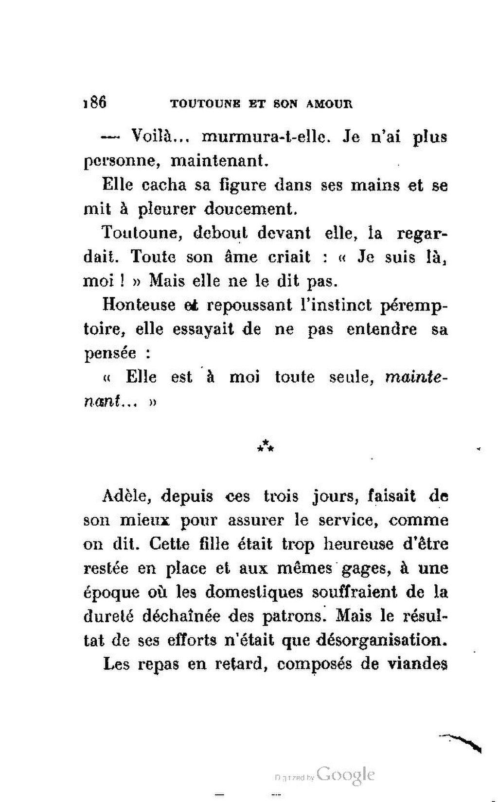 L Amour Est Dans La Rue Pdf : amour, Page:Delarue-Mardrus, Toutoune, Amour.pdf/191, Wikisource