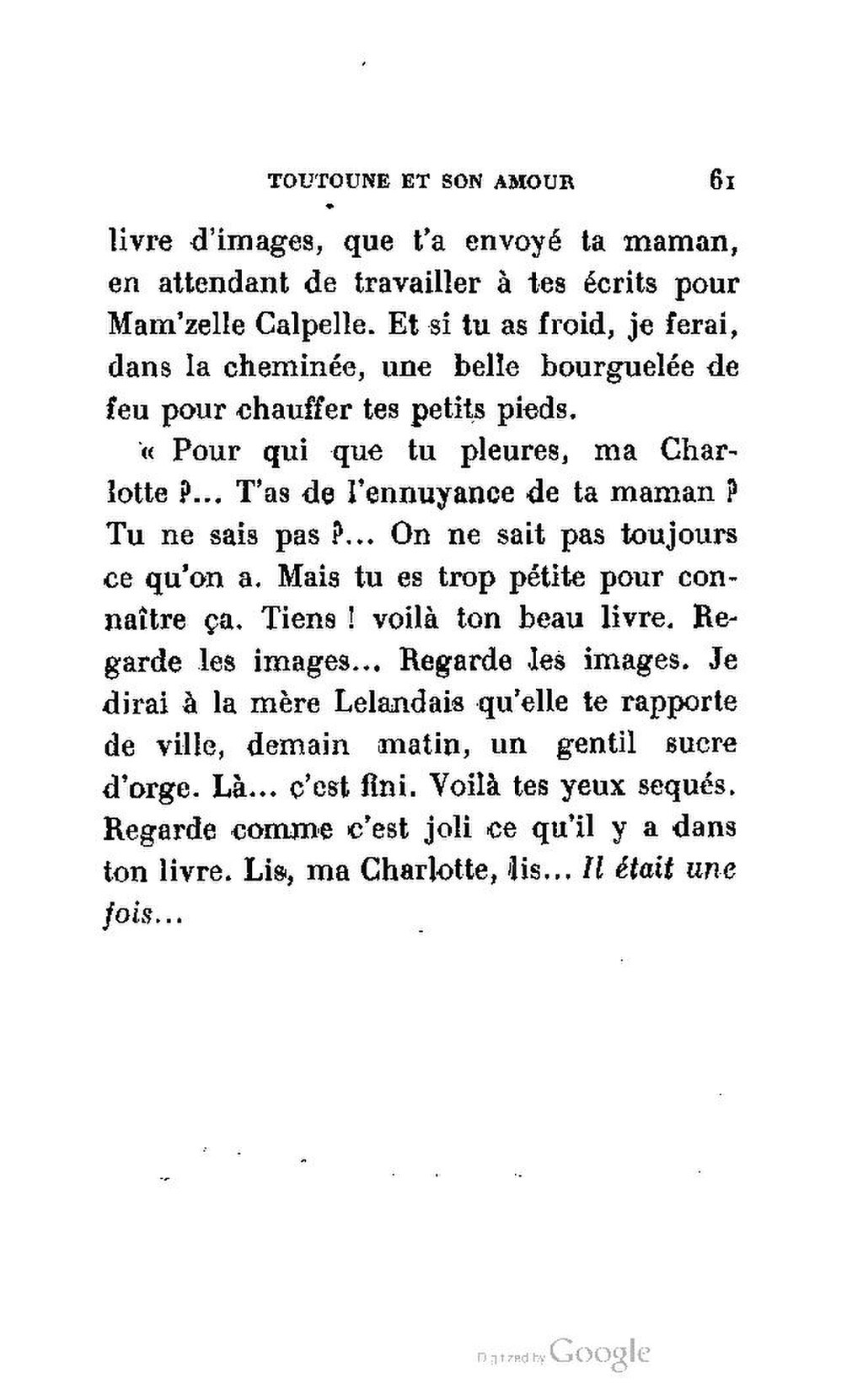 L Amour Est Dans La Rue Pdf : amour, Page:Delarue-Mardrus, Toutoune, Amour.pdf/66, Wikisource