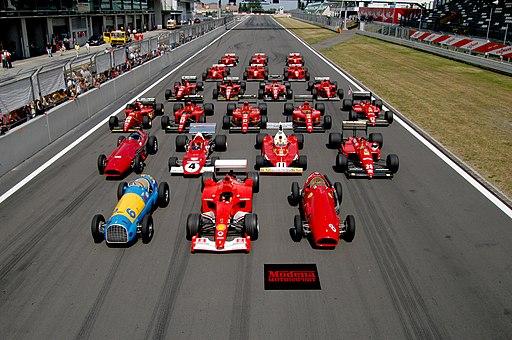 Vem kommer först i Nürburgring?