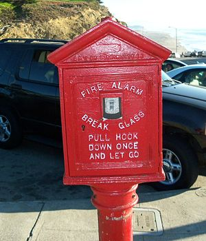 English: Fire Alarm in San Francisco, California