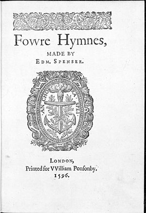 English: Title page,