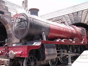 English: Hogwarts Express at Islands of Adventure.