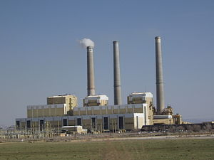 Hunter Power Plant, a coal-fired power plant j...