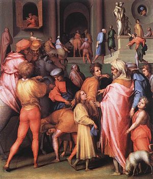 Joseph Being Sold to Potiphar