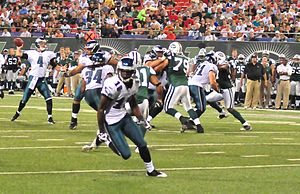 Jeremy Maclin playing for the Eagles.