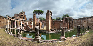English: Hadrian's Villa, Tivoli, Lazio, Italy...