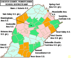 Districts in Chester County, PA | Chester County Living on map of west chester municipality, map west chester pa 19380, map of lebanon, map of west bradford twp pa, map of new castle, map of virginia and pennsylvania, map of west chester pa, map of west goshen, map of harrisburg, map of west chester area,