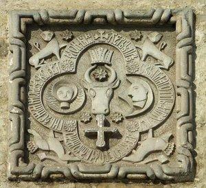Coat of arms of The Principality of Moldavia, ...