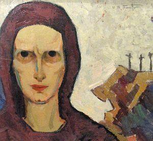 Română: Nicolae Tonitza (1886 - 1940) - După r...