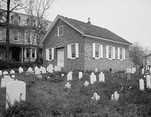 English: Old Mennonite Church, Germantown, Pen...