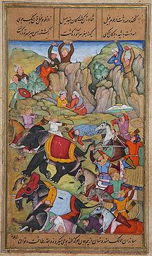 Image result for siege of delhi 1398