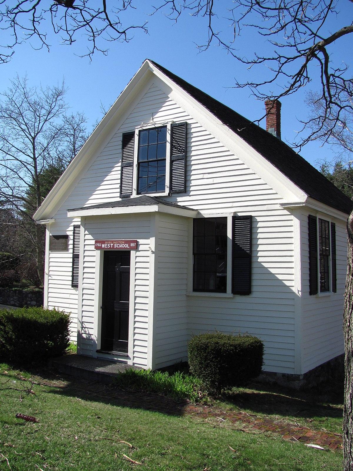 West School Burlington Massachusetts  Wikipedia