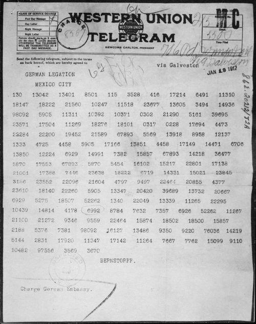 small resolution of Zimmermann Telegram - Wikipedia