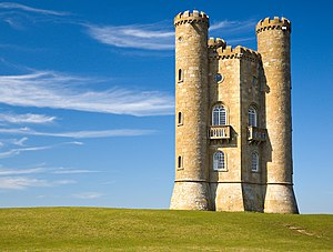 English: Broadway Tower, Cotswolds, England.