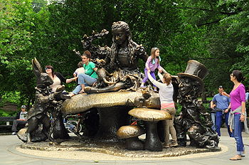Entheogens shamanism zosos truthtalk13 children play on jose de creefts sculpture alice in wonderland incentral park new york alice sits atop a mushroom inviting children to climb up and join fandeluxe Gallery