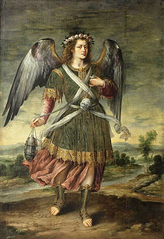 FileEl Arcngel Seatiel con incensario de Bartolom