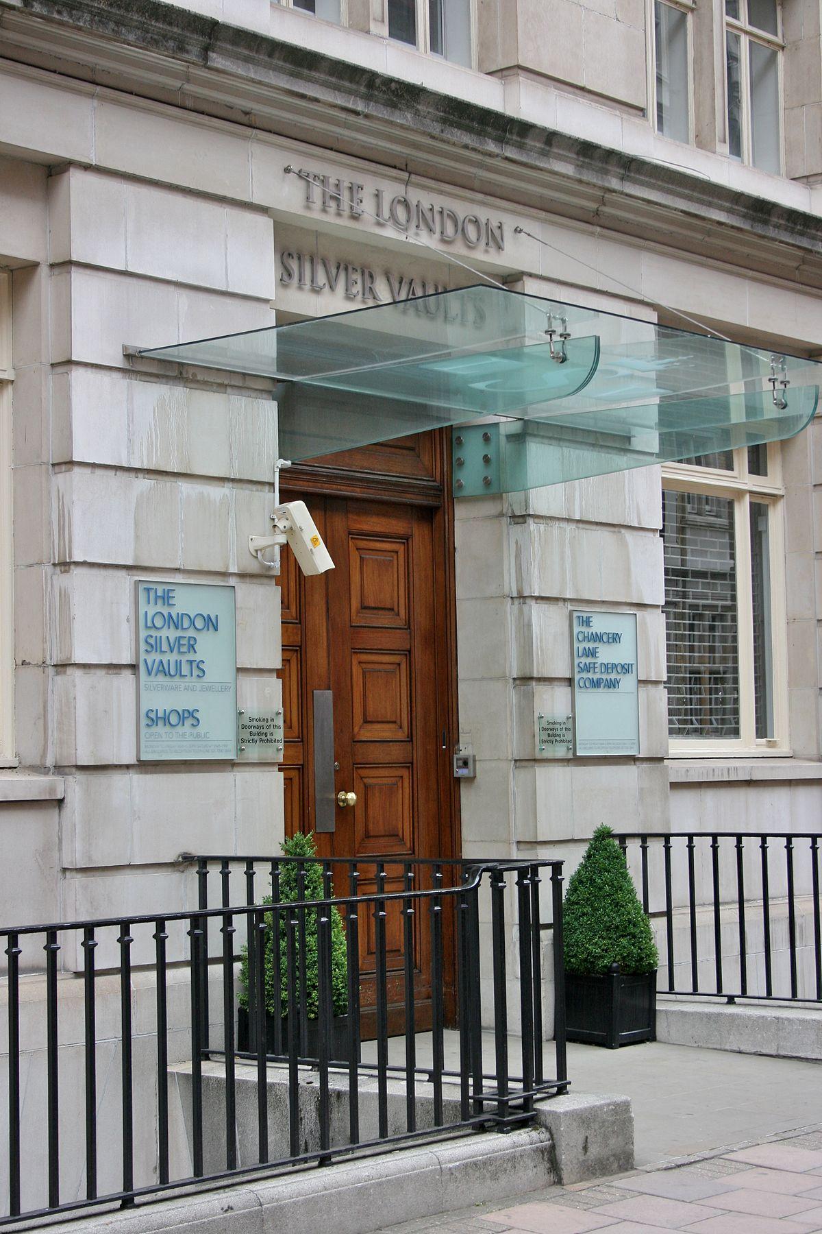 London Silver Vaults Wikipedia