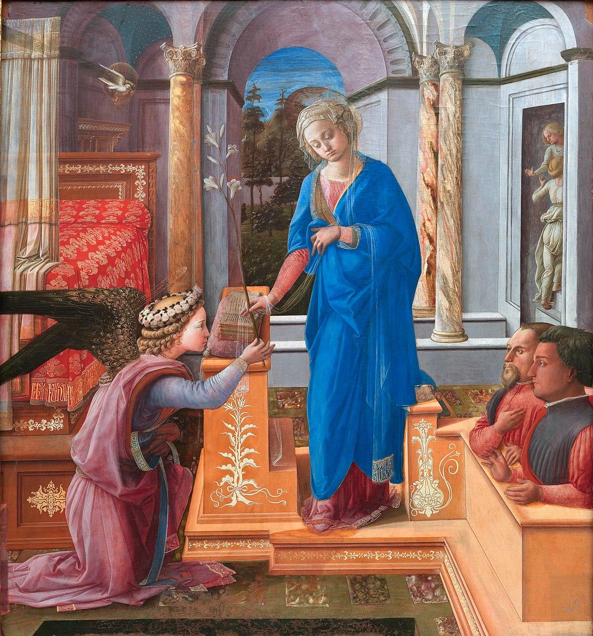 Annunciazione di palazzo Barberini  Wikipedia