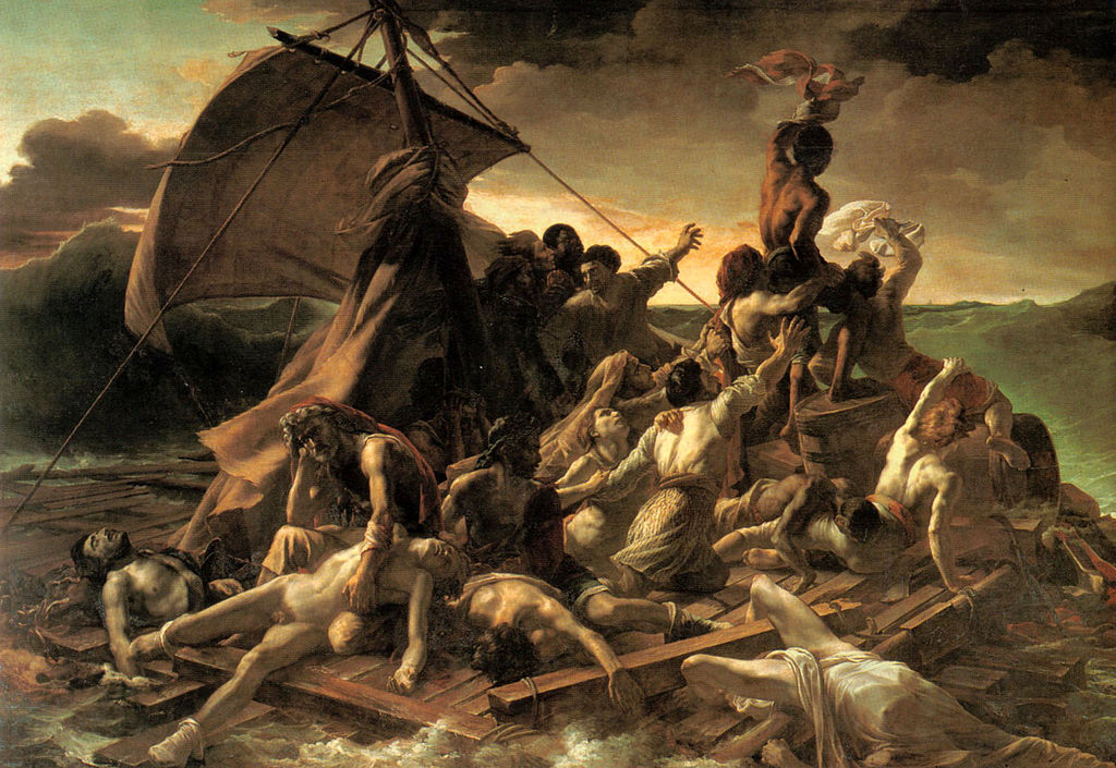 Painting Raft of the Medusa