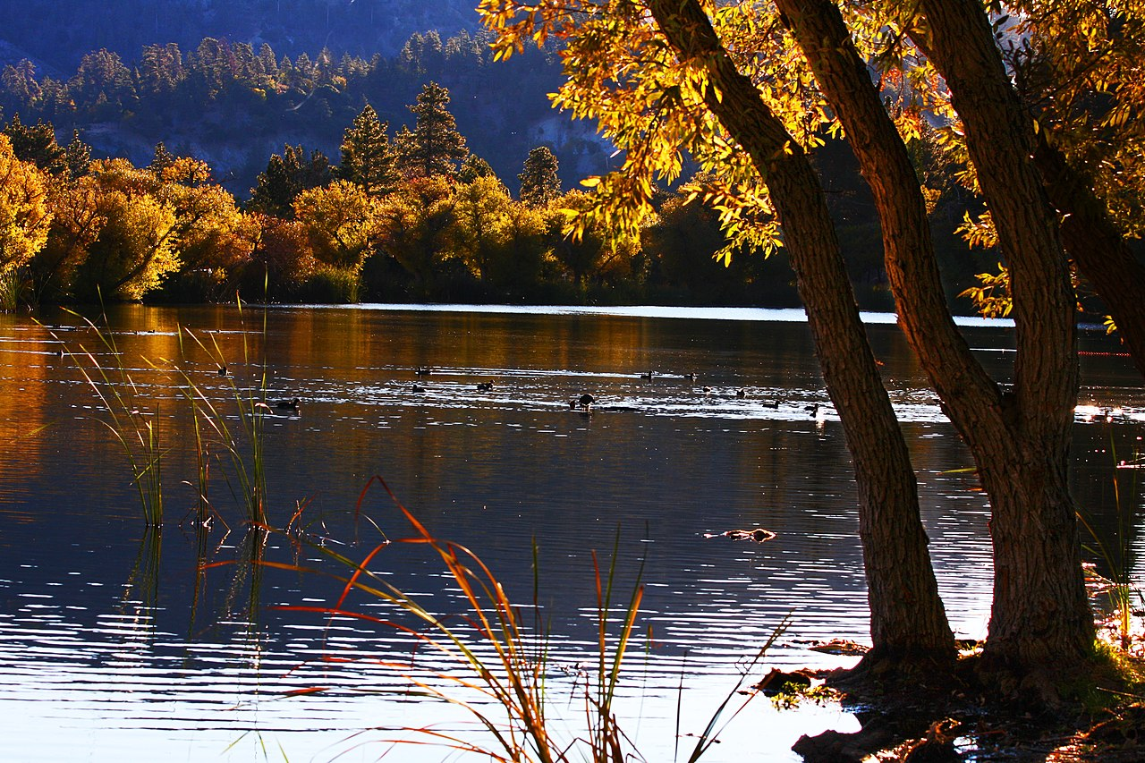 Wallpaper Images Of Mountains In Fall File Jackson Lake In Wrightwood California 1 Jpg