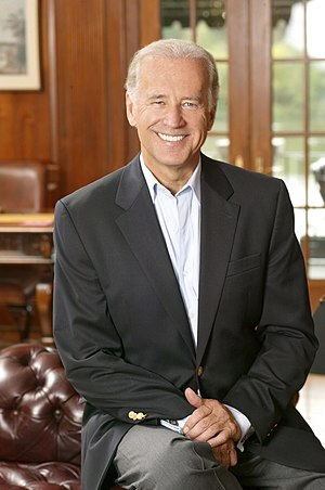 Joe Biden, Vice President of the United States.