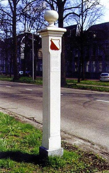 Doelpaal Maliebaan Utrecht