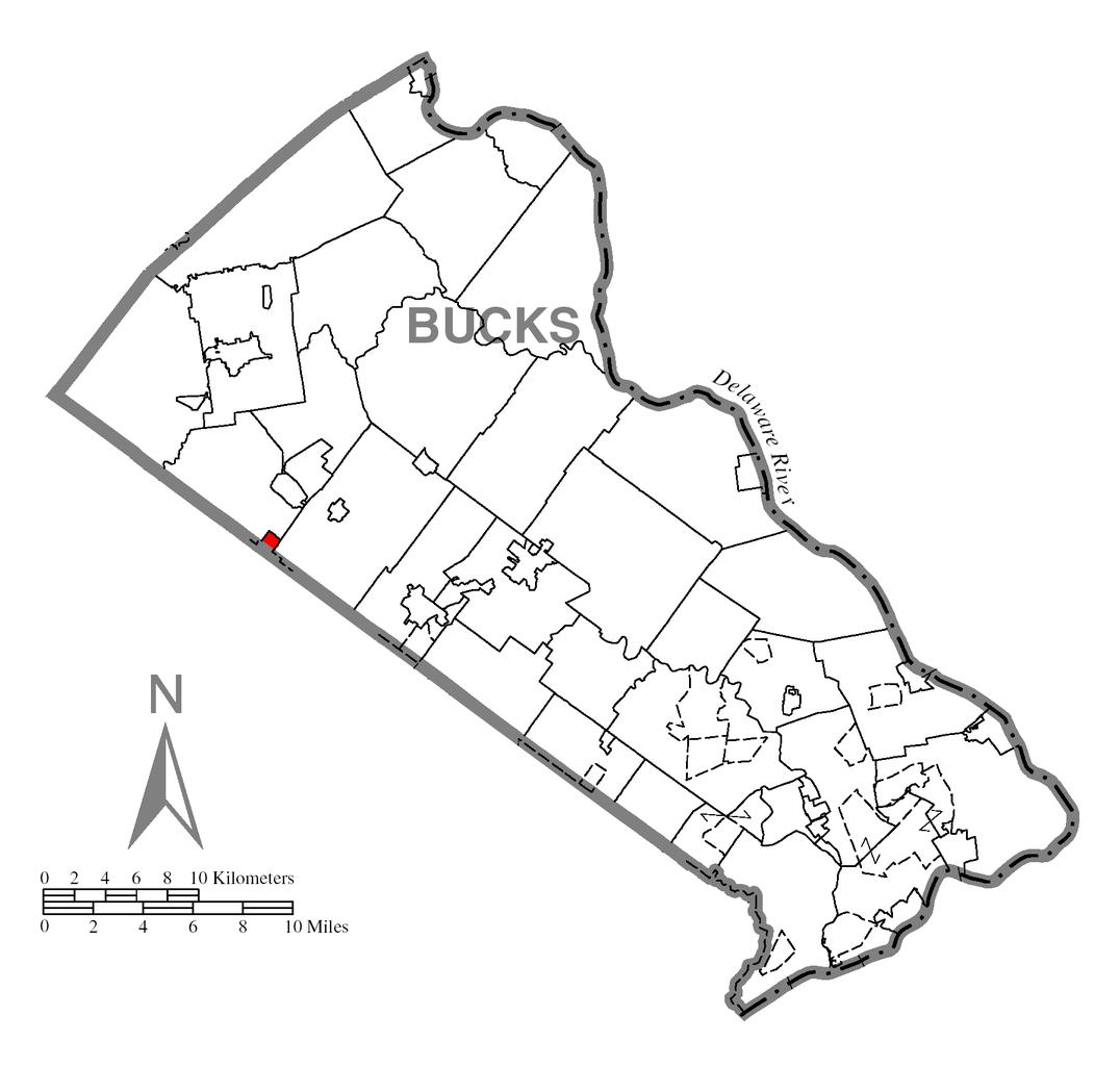 Tập tin:Map of Telford, Bucks County, Pennsylvania