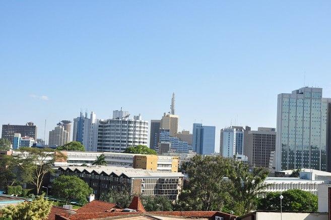 """Nairobi Skyline from BBC Studios"" by afromusing - Flickr"