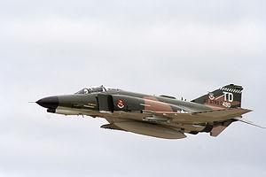 """QF-4E AF Serial No. 74-1652, the second """"..."""
